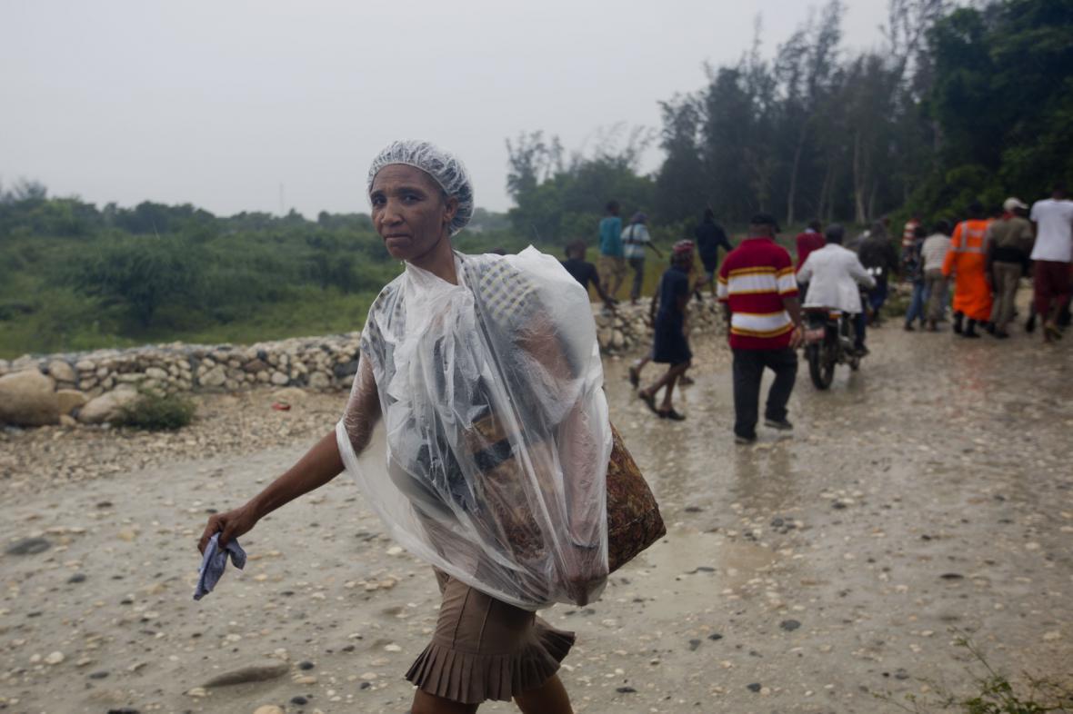 Haiti před příchodem hurikánu