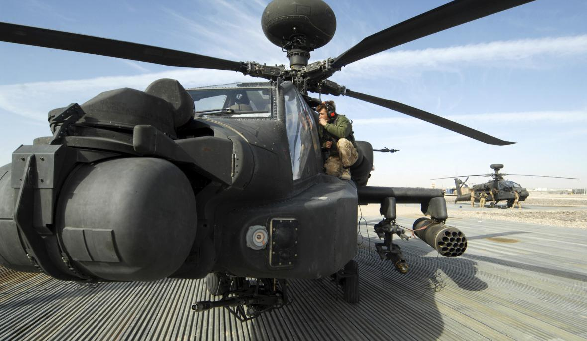 Britská armáda v Afghánistánu.