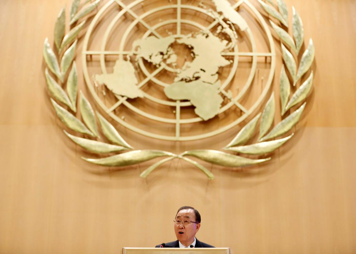 Šéf OSN Pan Ki-mun