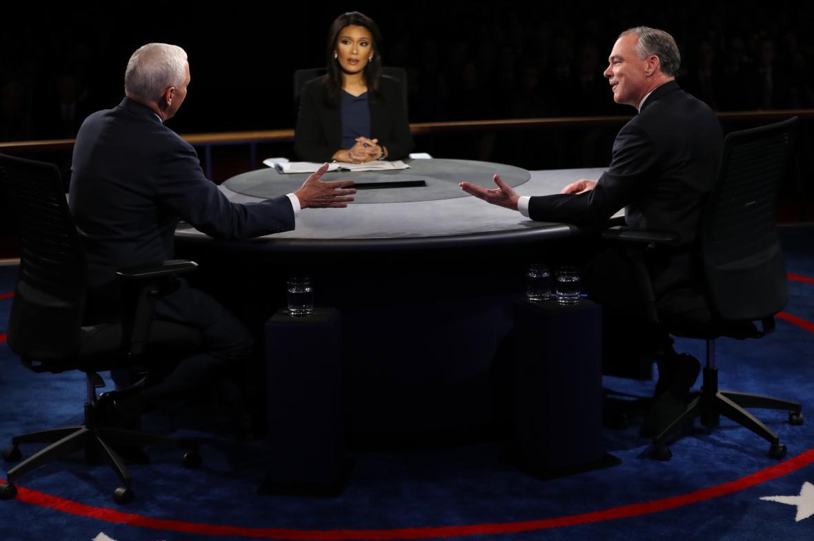 Republikánský kandidát Mike Pence