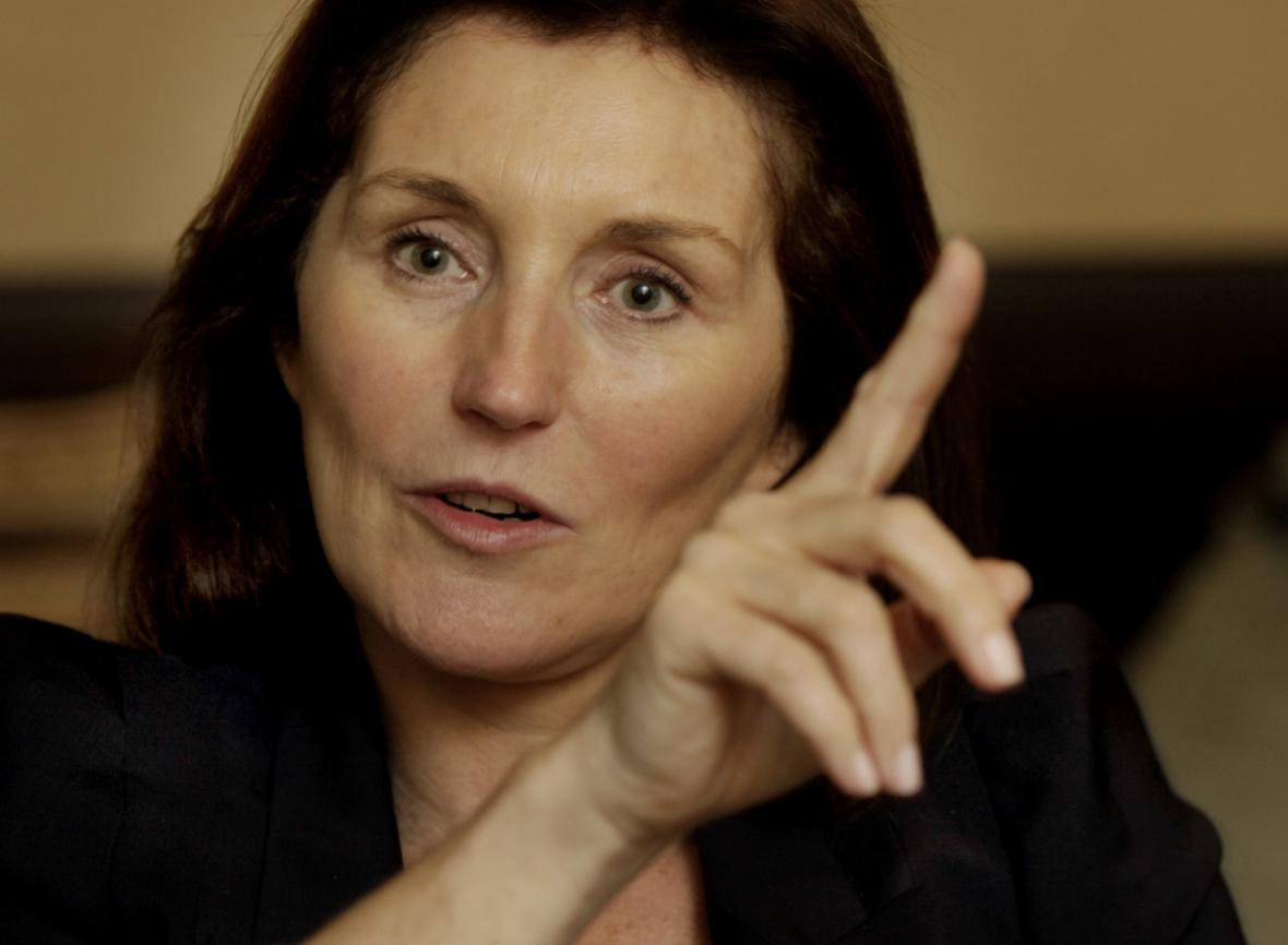 Bývalá první dáma Cécilia Attiasová (Sarkozyová)