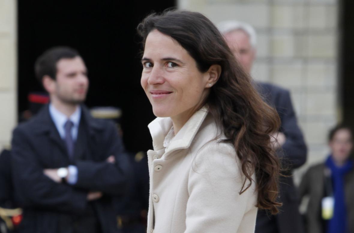 Mazarine Pingeotová, nemanželská dcera Françoise Mitterranda