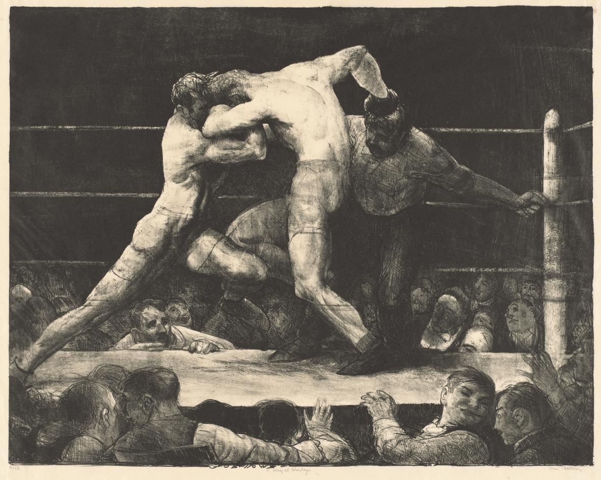 George Bellows / Mužská záležitost u Sharkey's