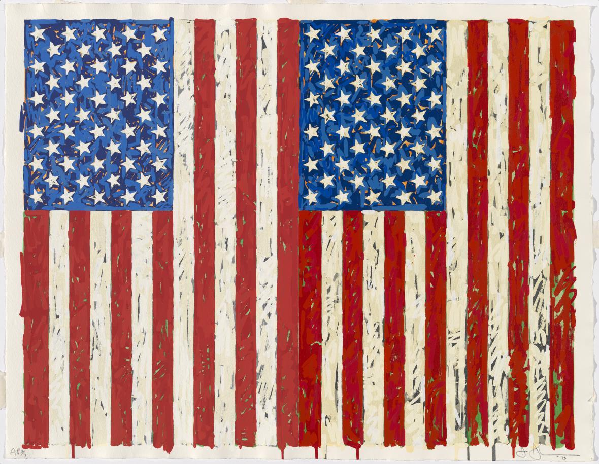 Jasper Johns / Vlajky