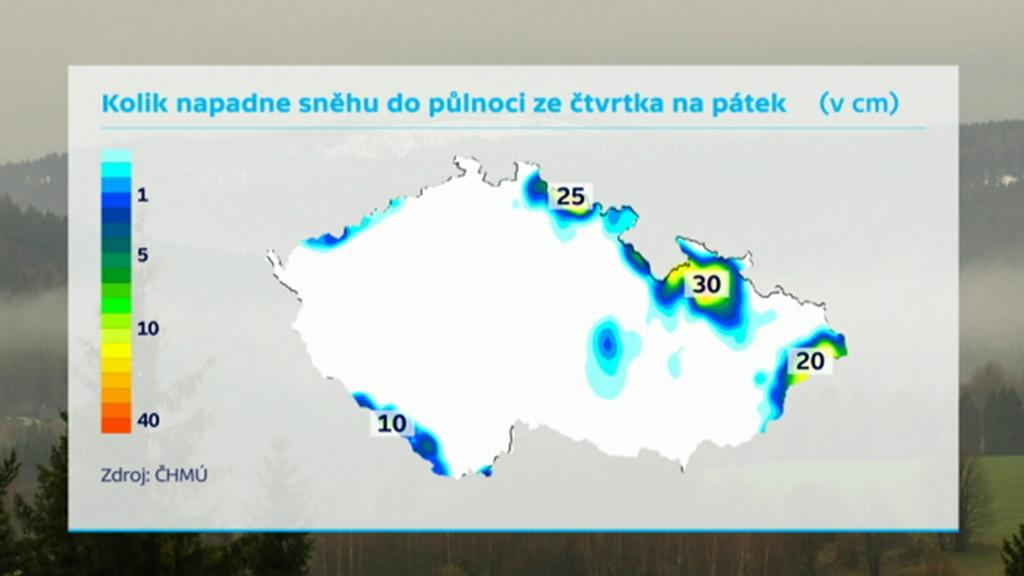Sníh v Česku