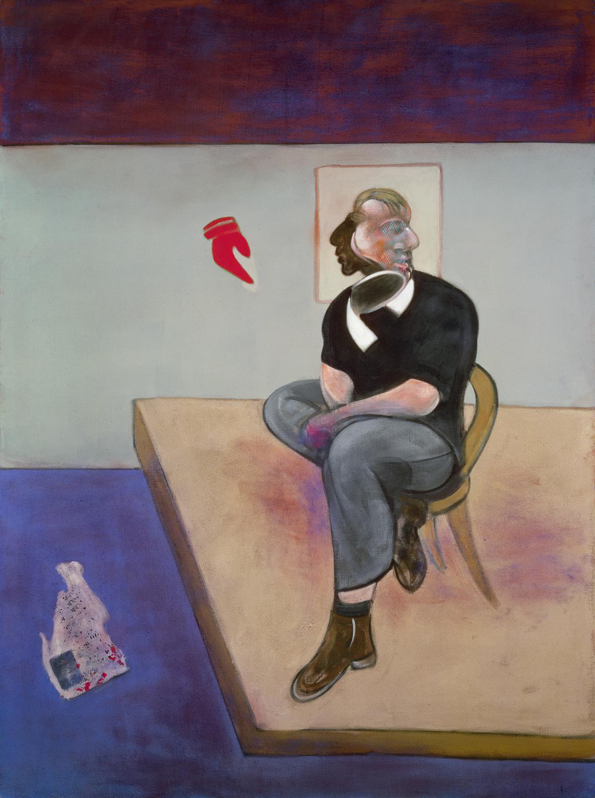 Francis Bacon / studie k autoportrétu, 1981