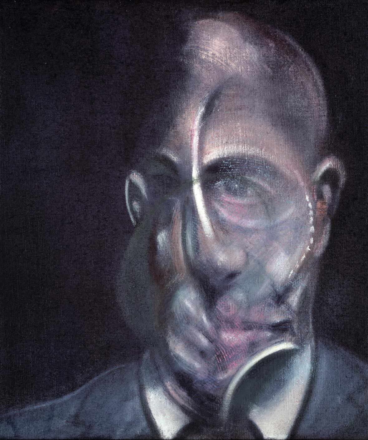 Francis Bacon / Portrét Michela Leirise, 1976