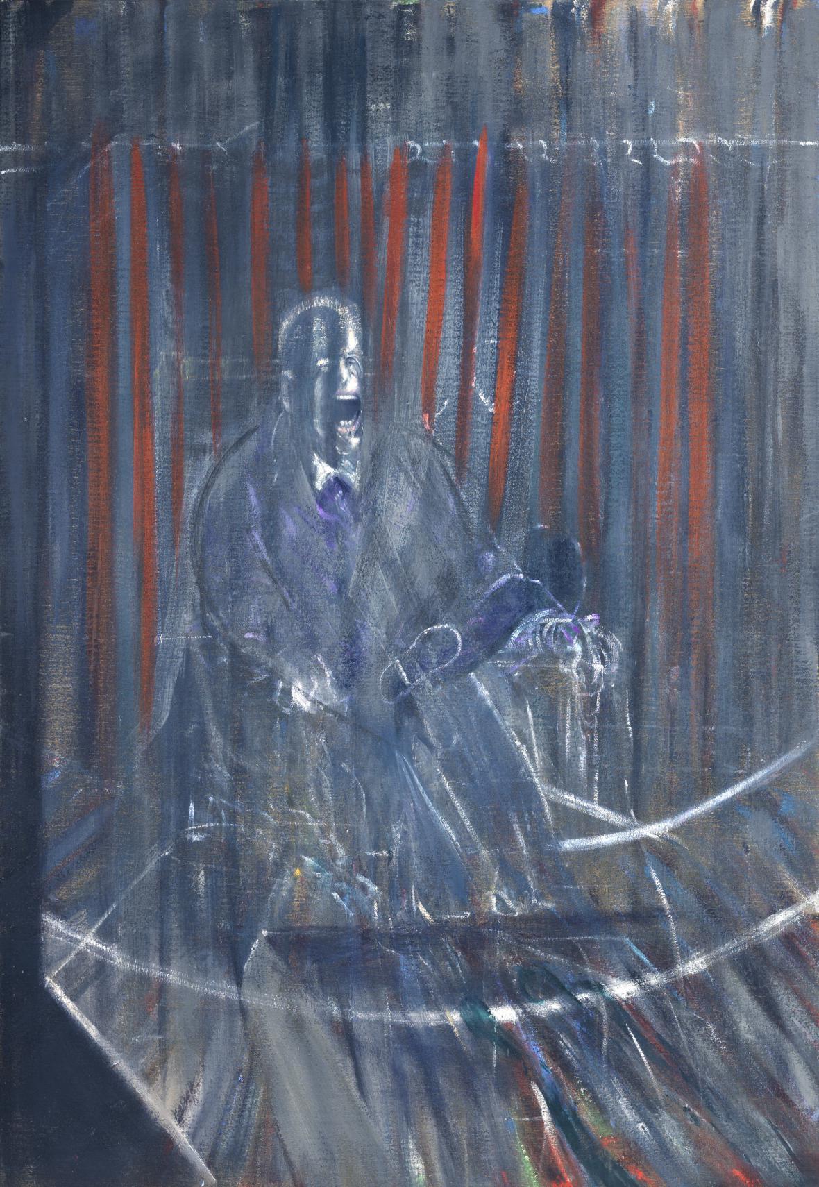 Francis Bacon / Studie podle Velázqueze, 1950