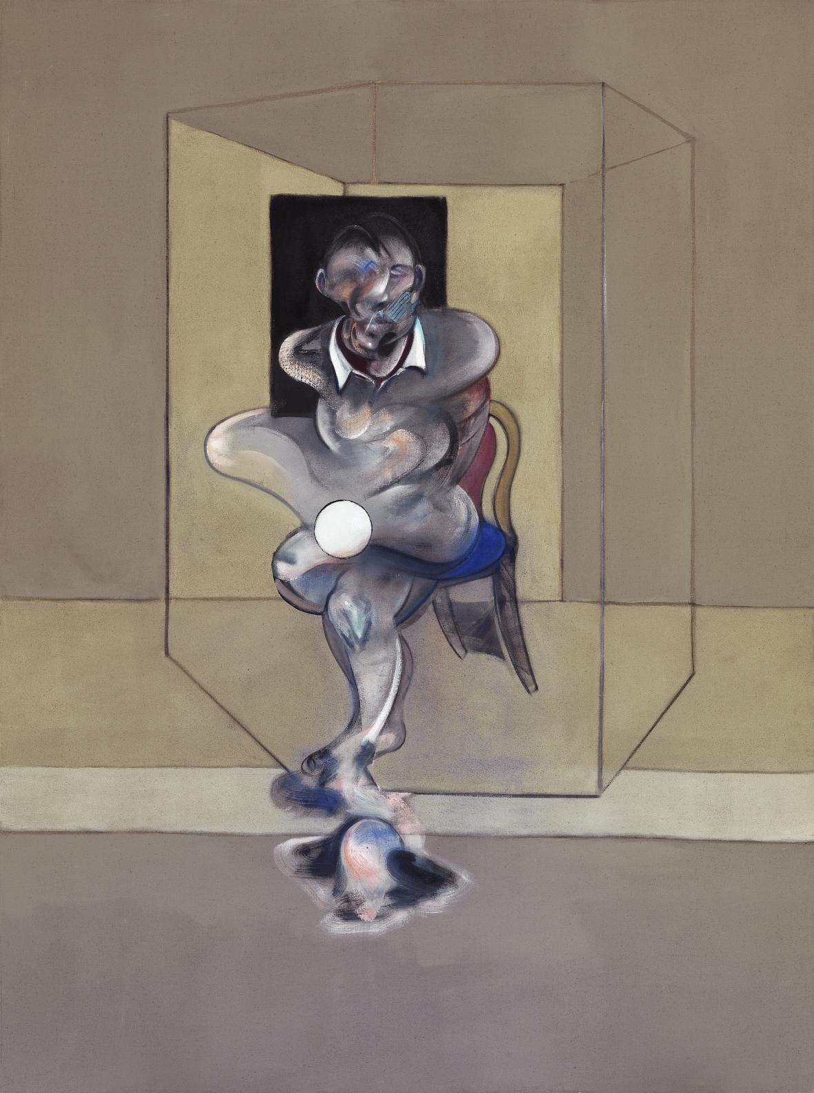 Francis Bacon / studie k autoportrétu, 1976