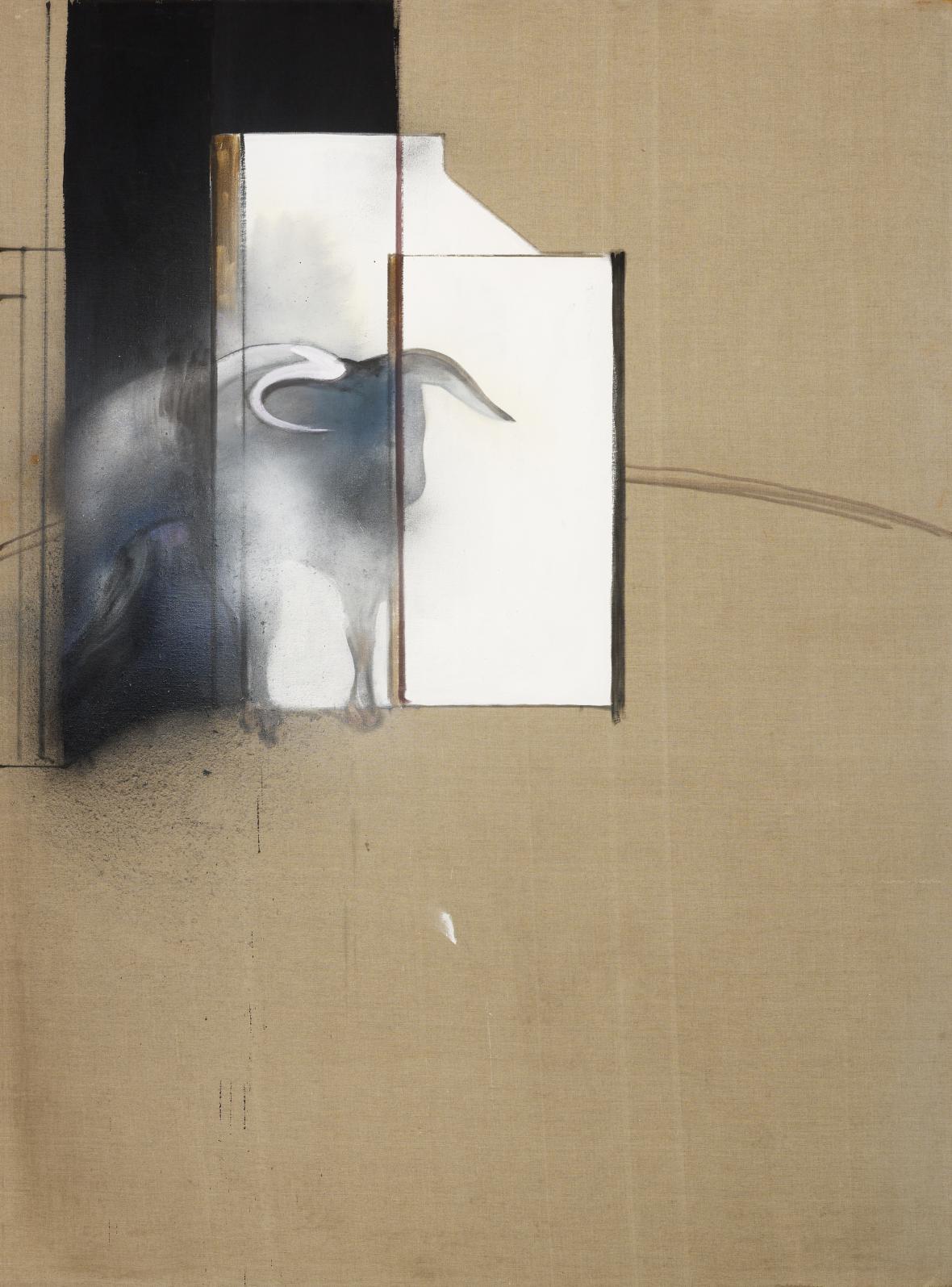 Francis Bacon / Studie býka, 1991