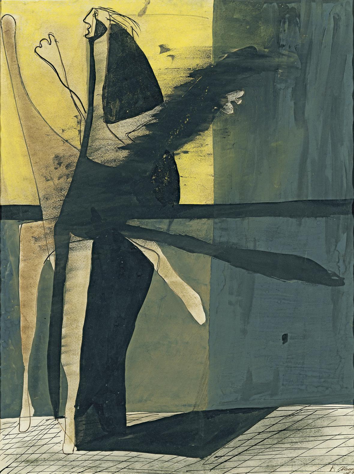 Francis Bacon / Kompozice (figura), 1933