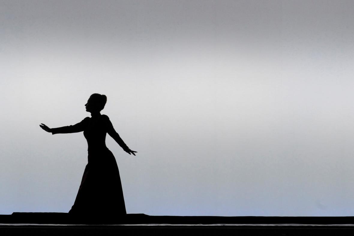 Zkouška opery Káťa Kabanová