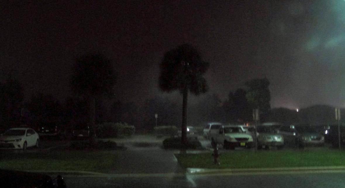 Hurikán Matthew udeřil na Floridě
