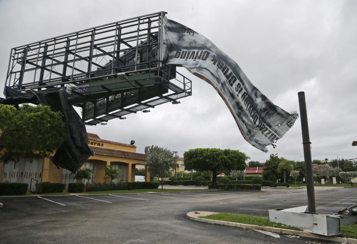 Následky hurikánu Matthew na Floridě