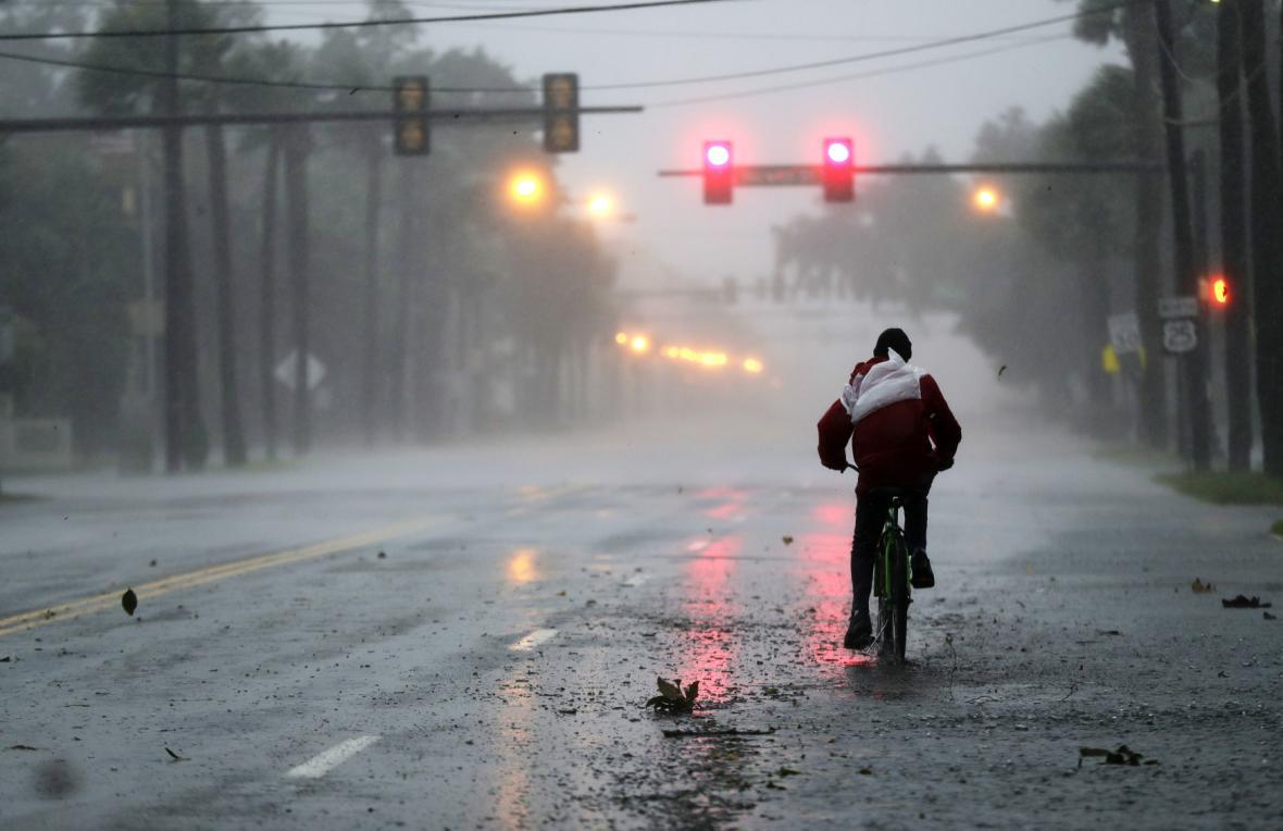 Hurikán Matthew v americké Georgii