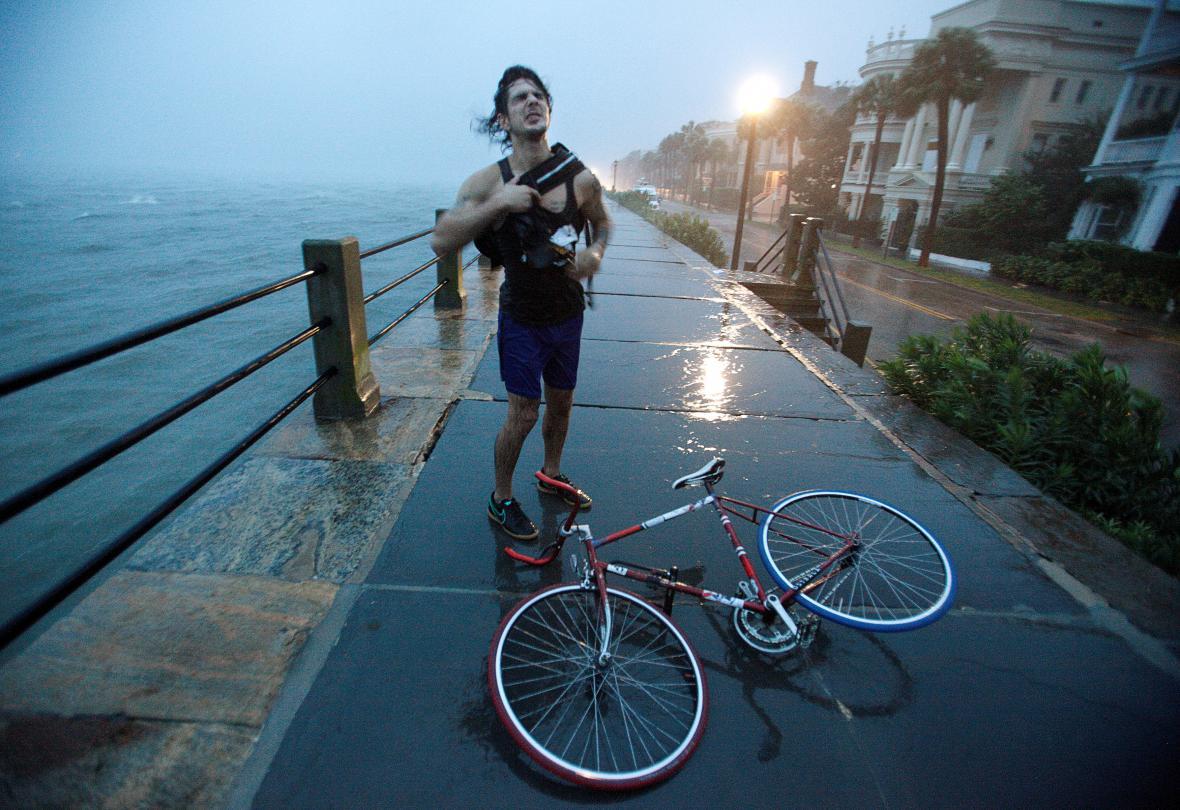 Hurikán Matthew dorazil do Charlestonu v Jižní Karolíně
