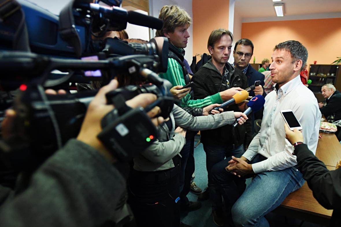 Jiří Zimola (ČSSD) po vítězství v krajských volbách