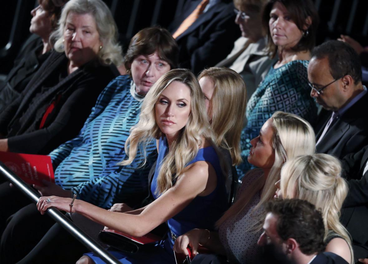 Příbuzní Donalda Trumpa v publiku