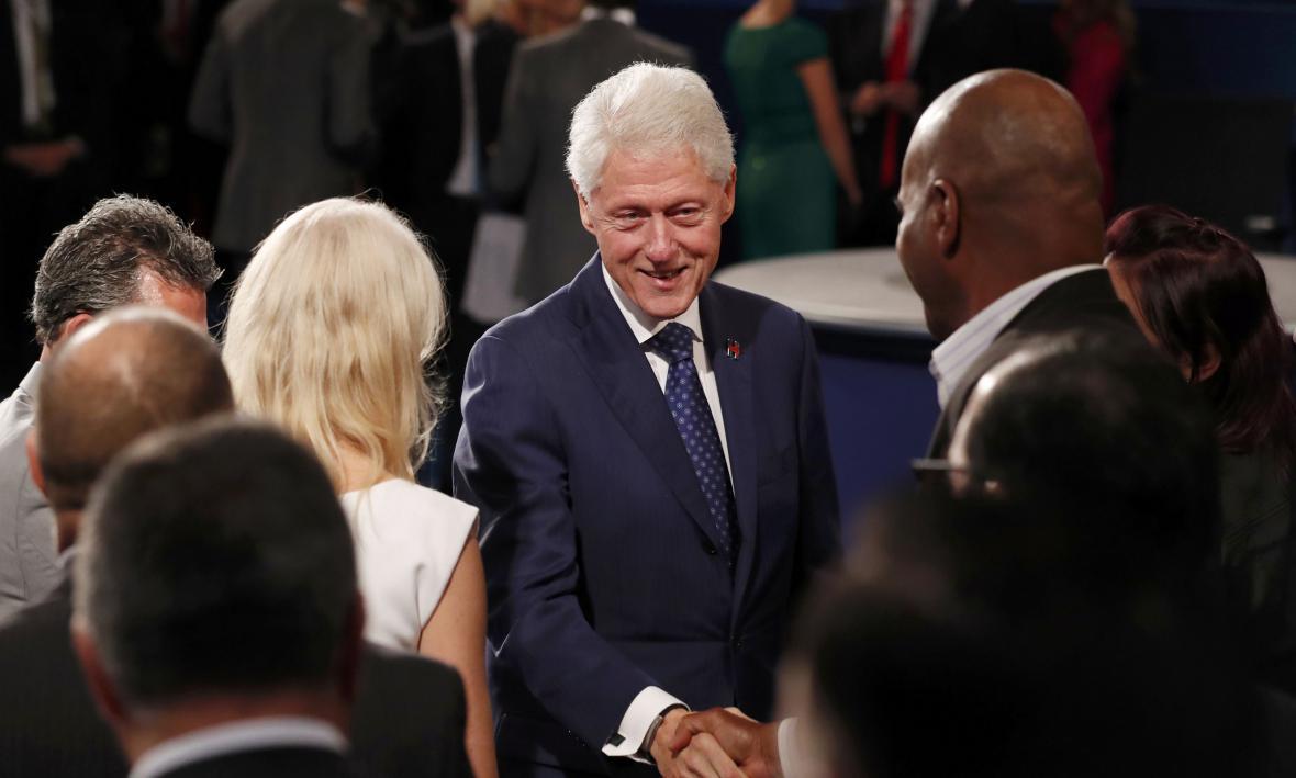 Exprezident Bill Clinton