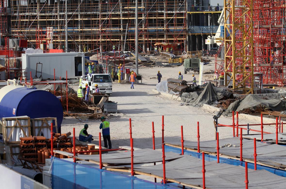 Přípravy na fotbalové mistrovství světa v Kataru