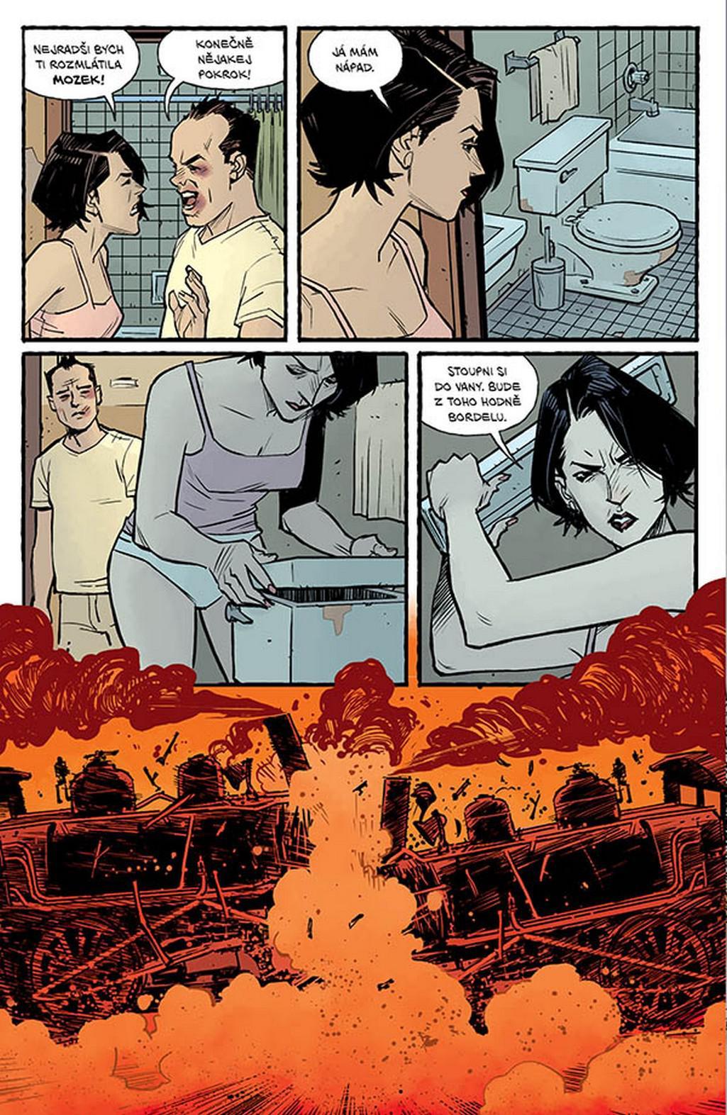 Z komiksu Klub rváčů 2