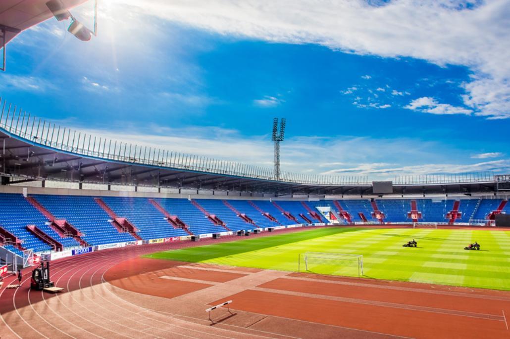 Rekonstrukce stadionu v Ostravě Vítkovicích