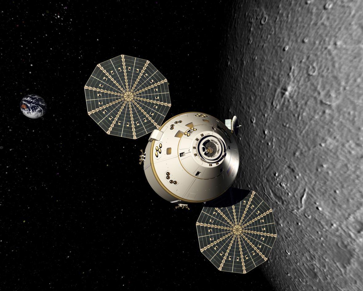 Orion - jediné, co přežilo z programu Constellation