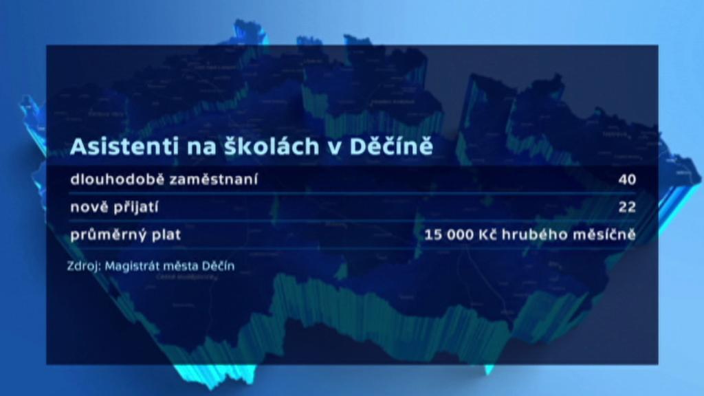 Asistenti na školách v Děčíně