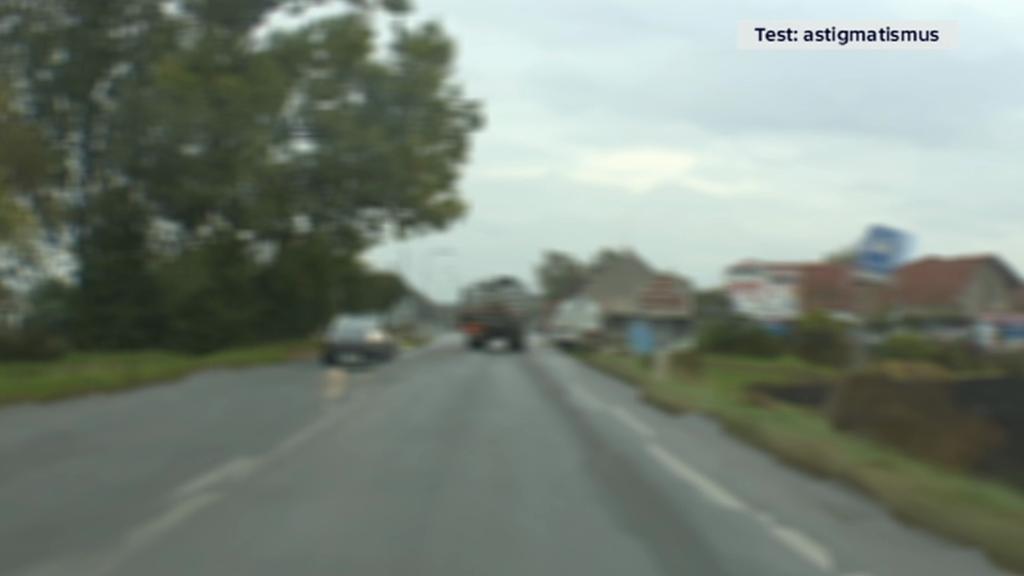 Astigmatismus – řidič vidí rozmazaně a obraz je deformovaný