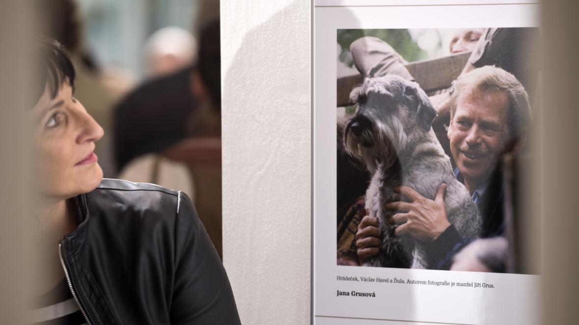 Výstava fotografií na počest dramatika a bývalého prezidenta Václava Havla