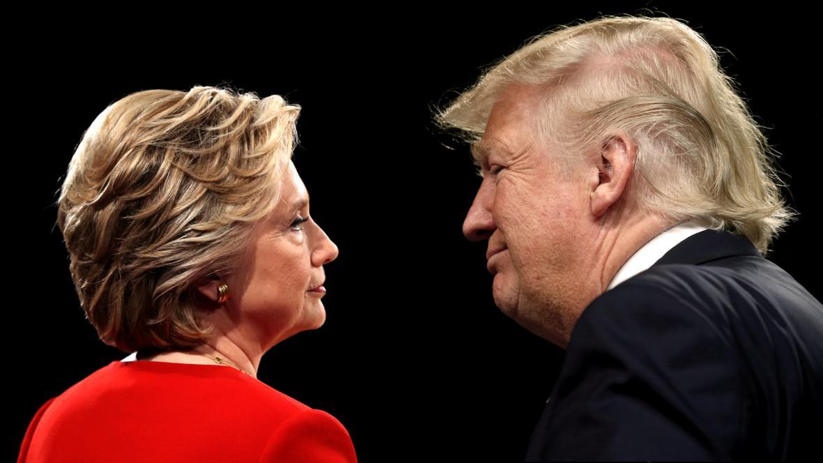 Hillary Clinton a Donald Trump