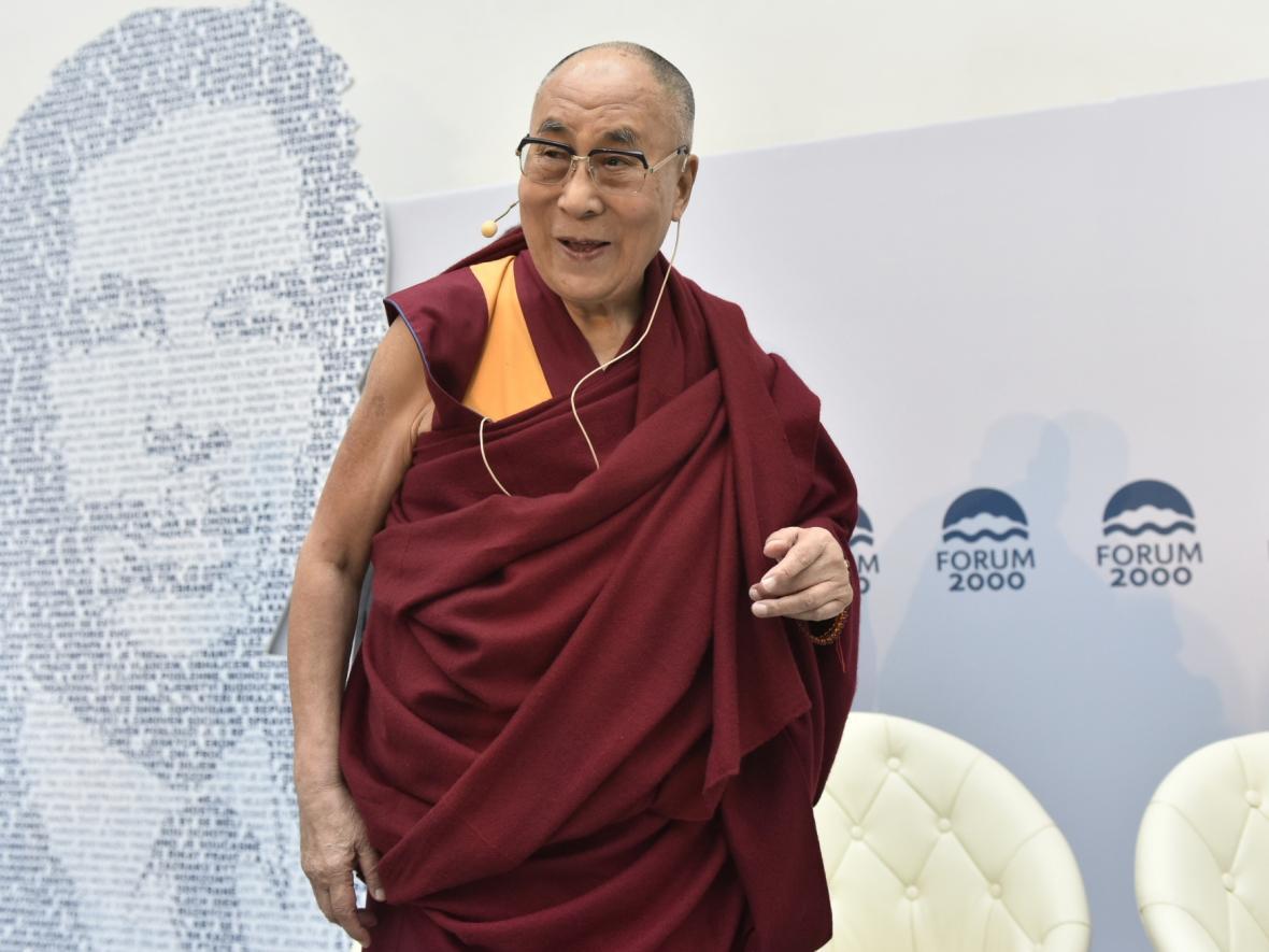 Tibetský duchovní vůdce dalajlama