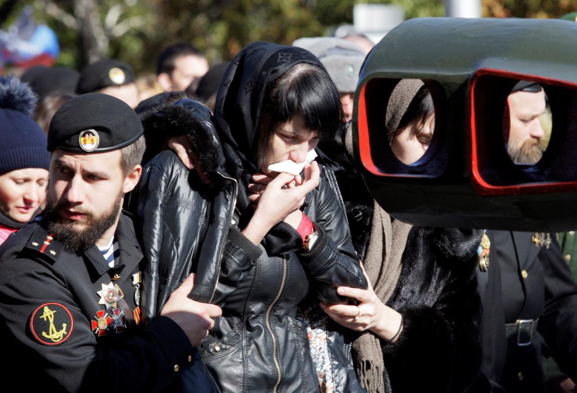 Pohřeb Arsena Pavlova
