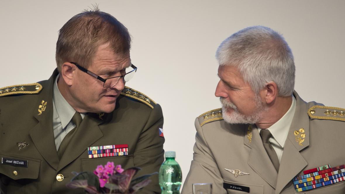Josef Bečvář a Petr Pavel
