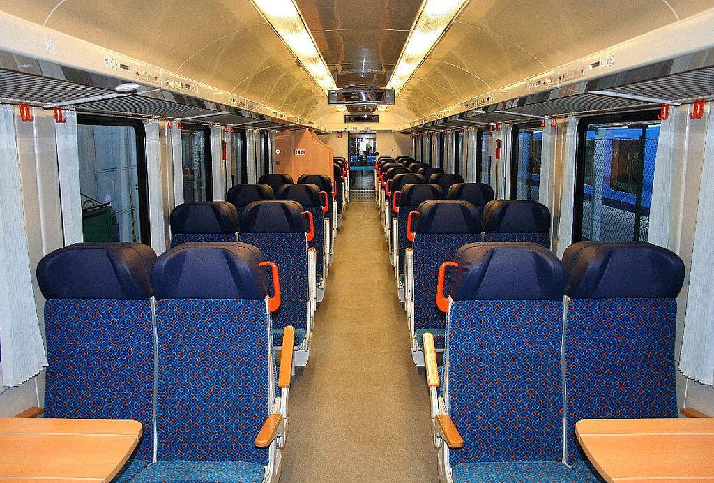 Vnitřní uspořádání renovovaných vagónů