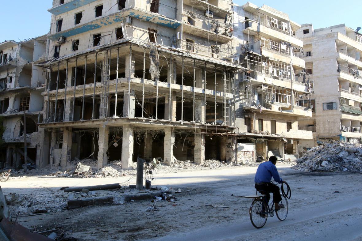 Předměstí Aleppa