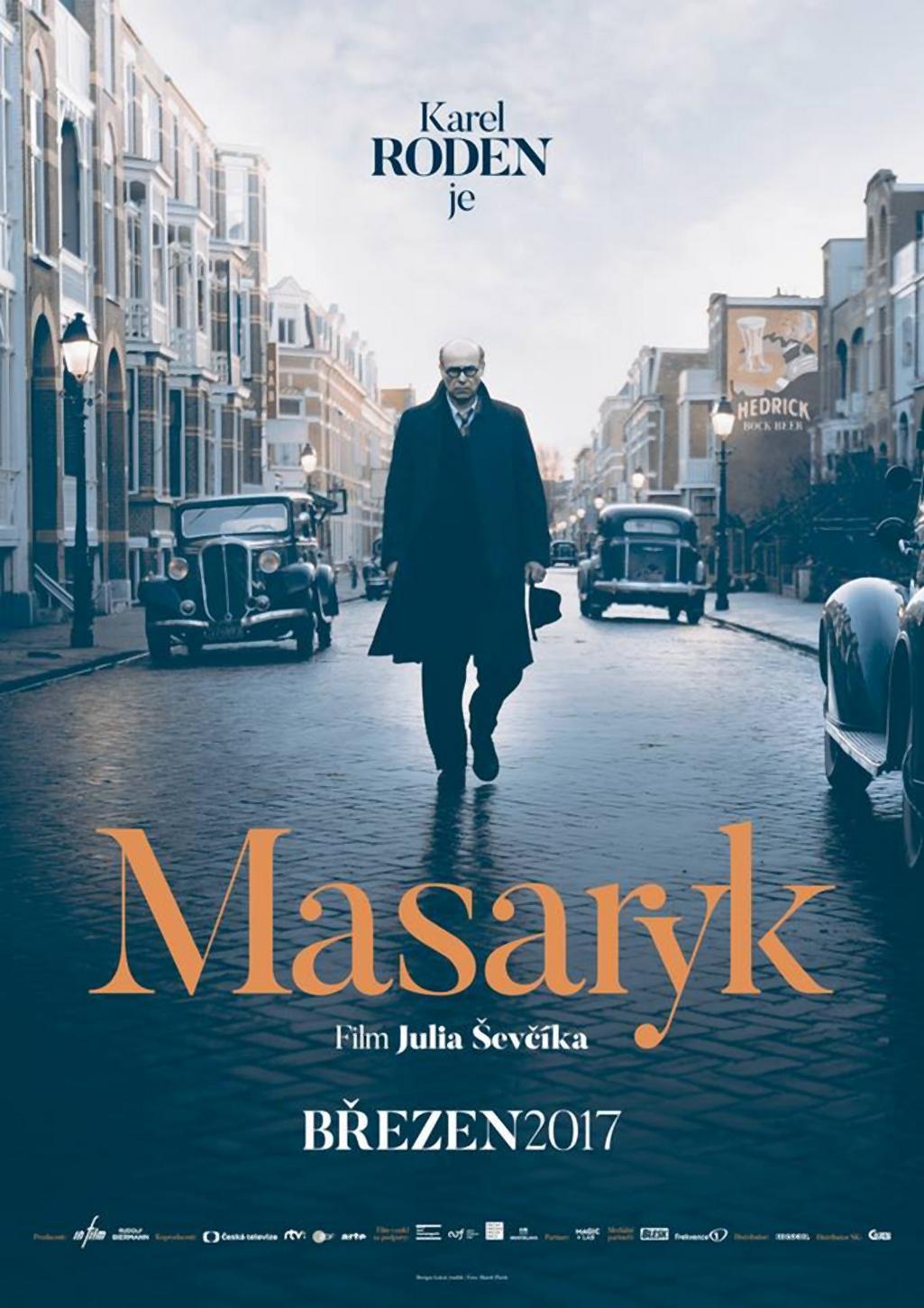Plakát k filmu Masaryk