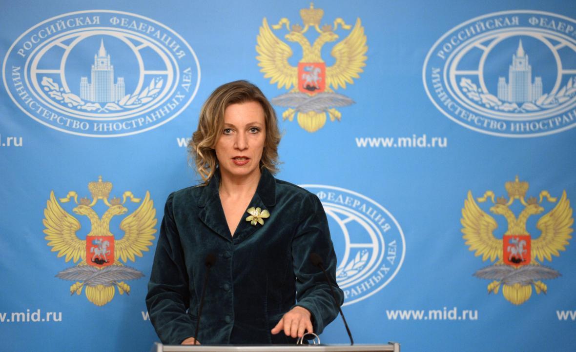 Mluvčí ruského ministerstva zahraničí Marija Zacharovová