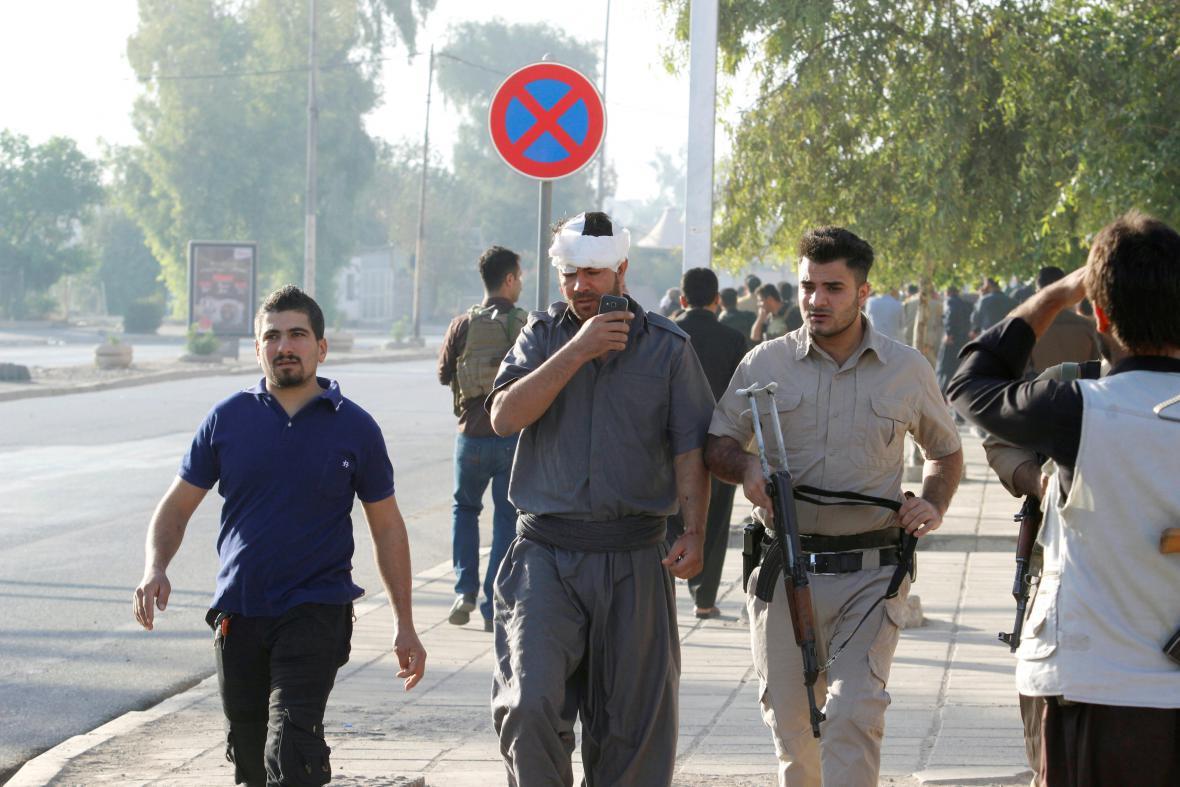 Kirkúk po útoku islamistů
