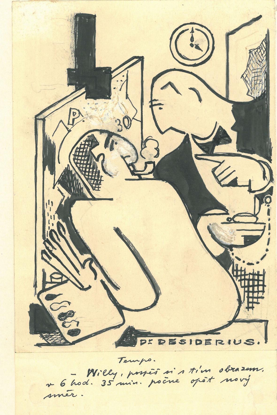 Karikatura Huga Boettingera