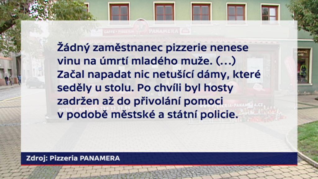Vyjádření Pizzeria PANAMERA