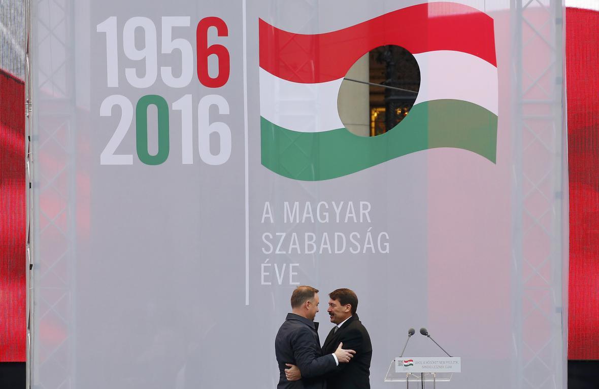 Státní ceremonie v Budapešti