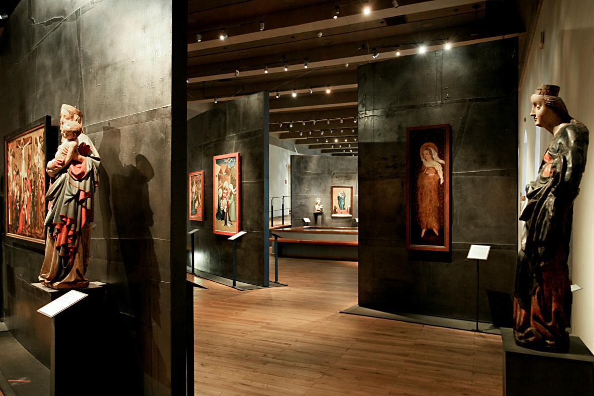 Stálá expozice v klášteře sv. Anežky
