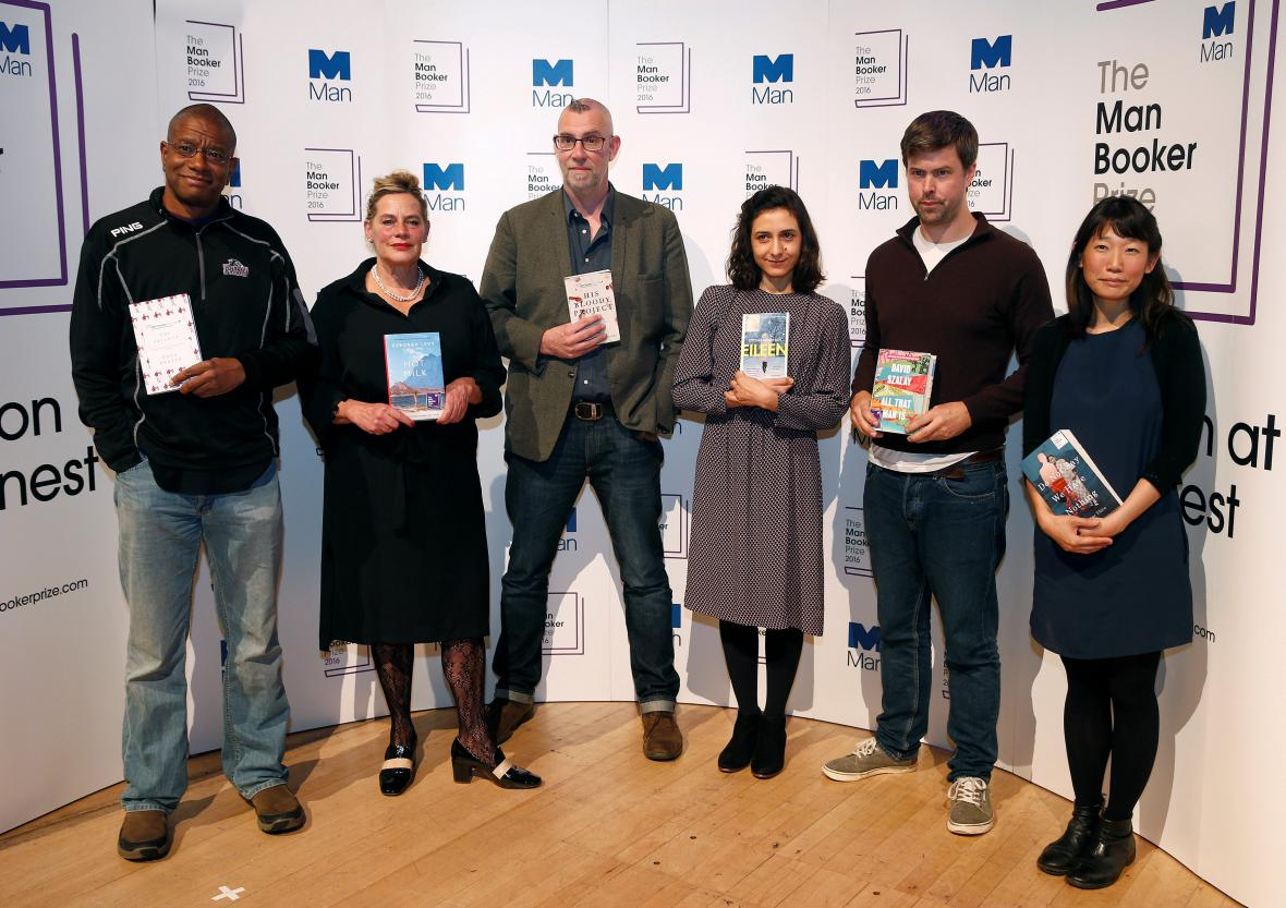 Finalisté Man Bookerovy ceny 2016