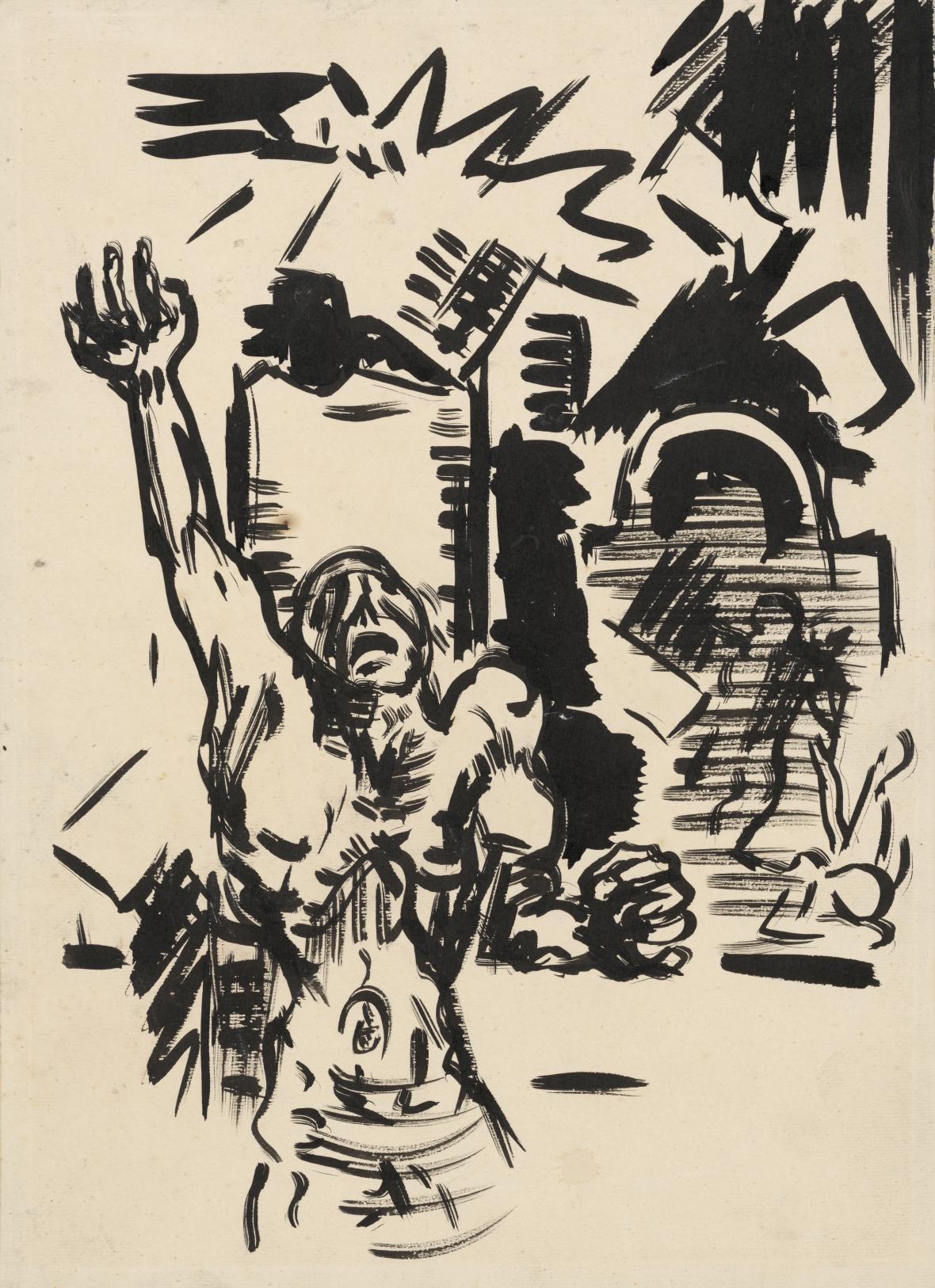 Arnold Peter Weisz-Kubínčan / Protest, 1943–1944