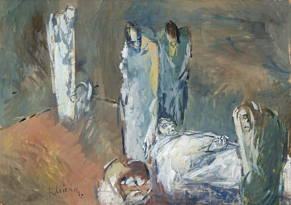 Vincent Hložník / Mrtvý, 1942