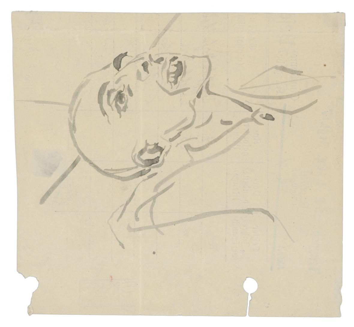 Jozef Fedora / Kresby z koncentračního tábora, 1944–1945