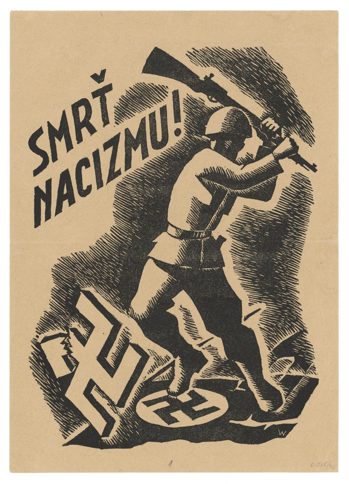 Štefan Bednár / Smrt nacismu!, 1944