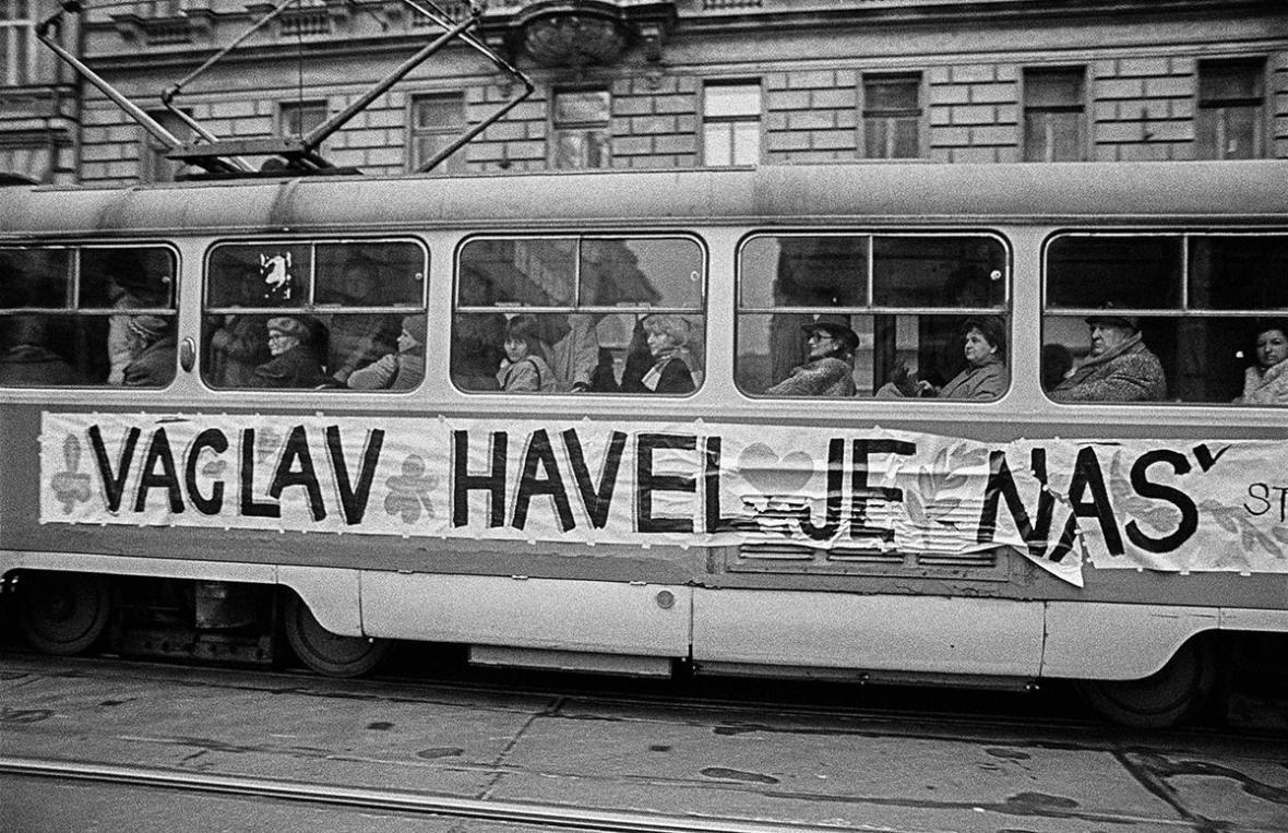 Praha, prosinec 1989