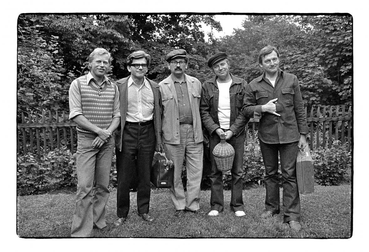 Setkání spisovatelů na Hrádečku, 1975